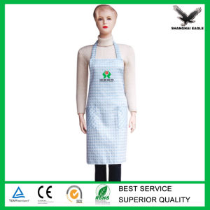 Logo Printed Cheap PE Apron pictures & photos