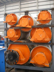 Rubber Surface Belt Conveyor Pulley / Head Pulley / Tail Pulley pictures & photos