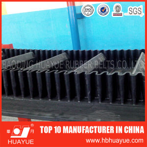 Heavy Duty Long Distance Cleat Sidewall Conveyor Belt pictures & photos