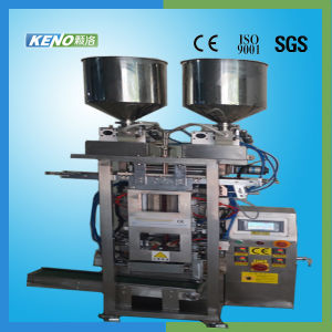 Keno-F602 Automatic Double Lines Liquid and Paste Filling Sealing Machine pictures & photos