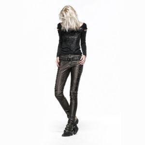 Punk Unique Design Elegant Gothic Women Pants (K-202) pictures & photos