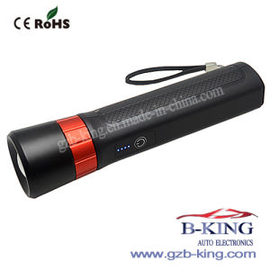 Portable Flash Light Battery Jump Starter pictures & photos