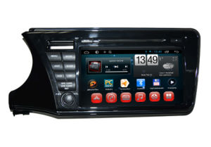 Car Double DIN GPS Navigation for Honda City Left 2014