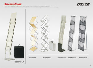Brochure Stand, Literature Stand, Magazine Stand for Exhibition Booth