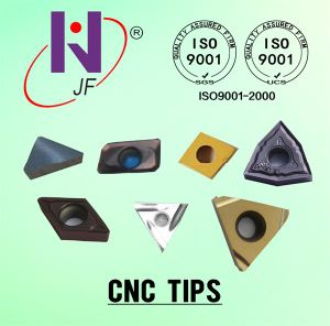 CNC Indexable Carbide Turning Inserts Coated with Tialn pictures & photos