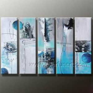New Design Hand Painted Canvas Oil Painting pictures & photos