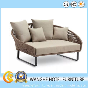 Modern Simple Style Aluminum Rattan Outdoor Leisure Furniture Set pictures & photos