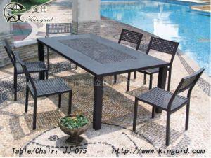 Cast Aluminium Furniture, Outdoor Furniture Jj-075tc pictures & photos