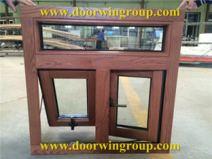 Aluminum Clad America Oak Wood Casement Window pictures & photos