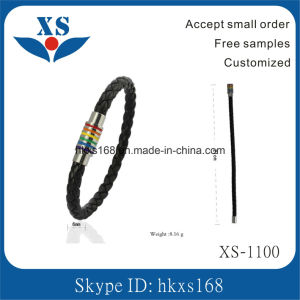 Wholesale Handmade Custom Leather Bangles pictures & photos