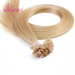 K. S Wigs High Quality Keratin Virgin Remy Hair Extension pictures & photos