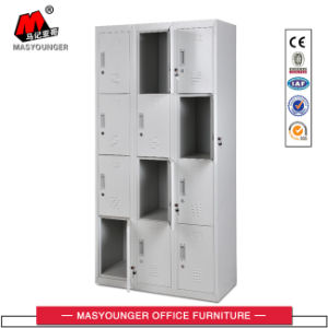 Simple Design Gym Use 12 Compartment Metal Storage Locker pictures & photos