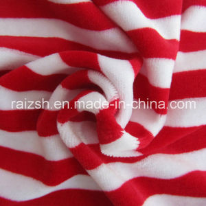 CVC Yarn Dyed Velvet Fashion Fabrics for Wholesale pictures & photos