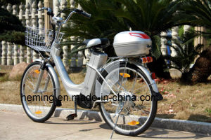 26 Inch City Electric Bike with Shimano 6 Speed pictures & photos