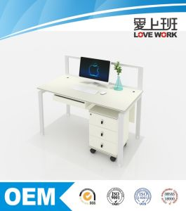 Wooden Office Desk for One Person Including Drawer pictures & photos