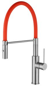 High Quality Rubber Spout Brass Spray Water Tap pictures & photos