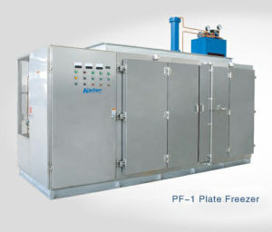 Guangzhou Koller Plate Freezer for Freezing Clumpy and Flake Food pictures & photos