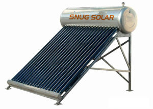 Compact Stainless Steel Domestic Solar Hot Water Heater pictures & photos
