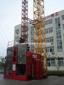 Tdt Sc 120/120 Double Cage Building Lift pictures & photos