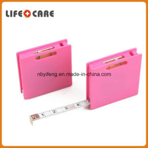 ABS Case Steel Standard Tape Measure with Bubble Level pictures & photos