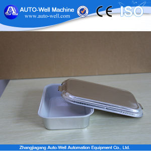 Eco-Friendly Golden Coated Airline Aluminum Foil Tray pictures & photos