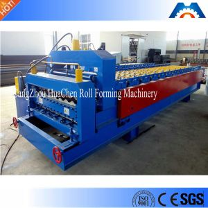 Two Layer Trapezoidal Sheet/Ibr Roof Panel Roll Forming Machine