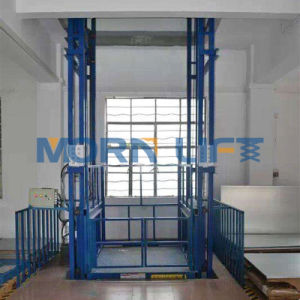 Warehouse Vertical Hydraulic Goods Lift and Cargo Lift pictures & photos
