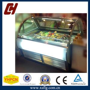 Popsicle Ice Cream Display Deep Freezer Machine pictures & photos