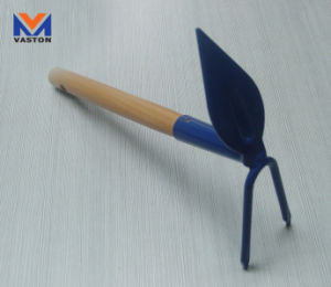 Pointed Garden Hoe with Wood Hand pictures & photos
