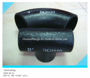 Sch40 Seamless Alloy Steel Butt Weld Pipe Fittings pictures & photos