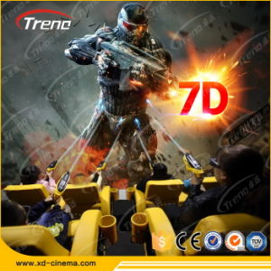 Interactive Game with Guns Equipment Supplier 7D Cinema in China pictures & photos