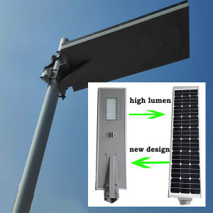5W-80W Aluminum Alloy Light Post Street High Power Solar LED Street Lamp/Lamps Light (HXXY) pictures & photos