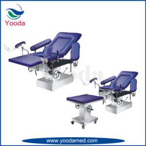 Manual Hospital Gynecology Examination Table pictures & photos