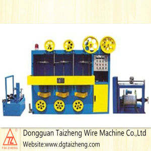 Electric Wire Triple Layers Wrapping Machine pictures & photos
