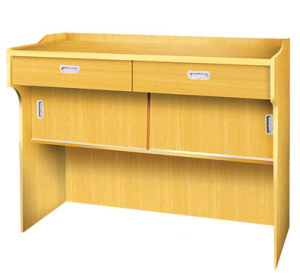 High Quality School Furniture Wooden Lectern Table, Wooden Podium Table pictures & photos