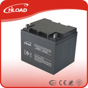 12V 40ah Long Life Solar Battery pictures & photos