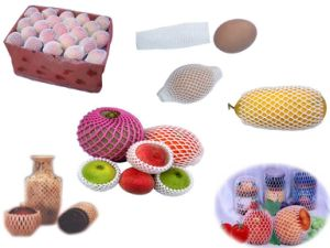 FDA Approval Popular Wholsale America Customized EPE Foam Plastic Fruit Packaging Net pictures & photos