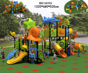 Funny Children Playground Equipment Outdoor Playground System (BH04301)