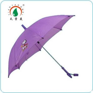 Hook Handle Gift Child Umbrella with Whistle