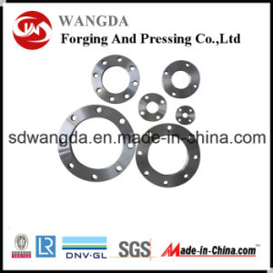 ANSI DIN Carbon Steel Forged Slip-on Pipe Flange pictures & photos
