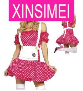 Pink Strawberry Princess Costume