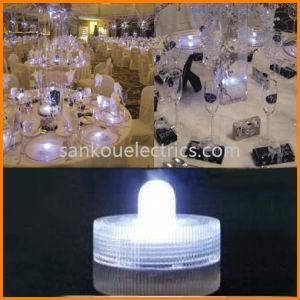 Submersible LED Tea Light Candle/Floating LED Candle as Wedding Goods