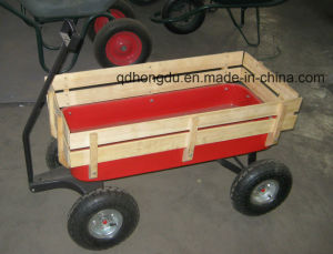 Garden Tool Cart Kid Custom Wagon Cart Tc1801 pictures & photos