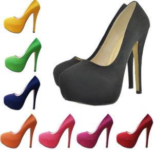 Low MOQ Fashion High Heel Women Shoe