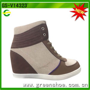 Good Selling Lady High Heel Sport Shoes pictures & photos