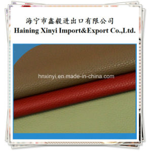 PU Artificial Leather for Making Sofa Furniture pictures & photos