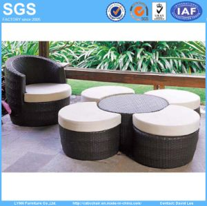 Nicely Design Modern Resort Hotel Outdoor Rattan Furniture pictures & photos