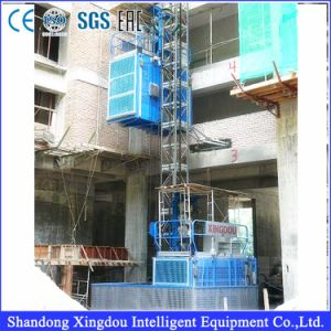 2 Ton Construction Hoist Ce and GOST Approved BV pictures & photos