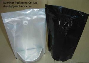 Flat Bottom Ziplock Bag Aluminium Foil Bag for Drip Coffee Packaging pictures & photos