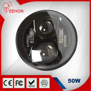 Hot Sales 50W 7 Inch LED Headlight for Jeep Wrangler pictures & photos